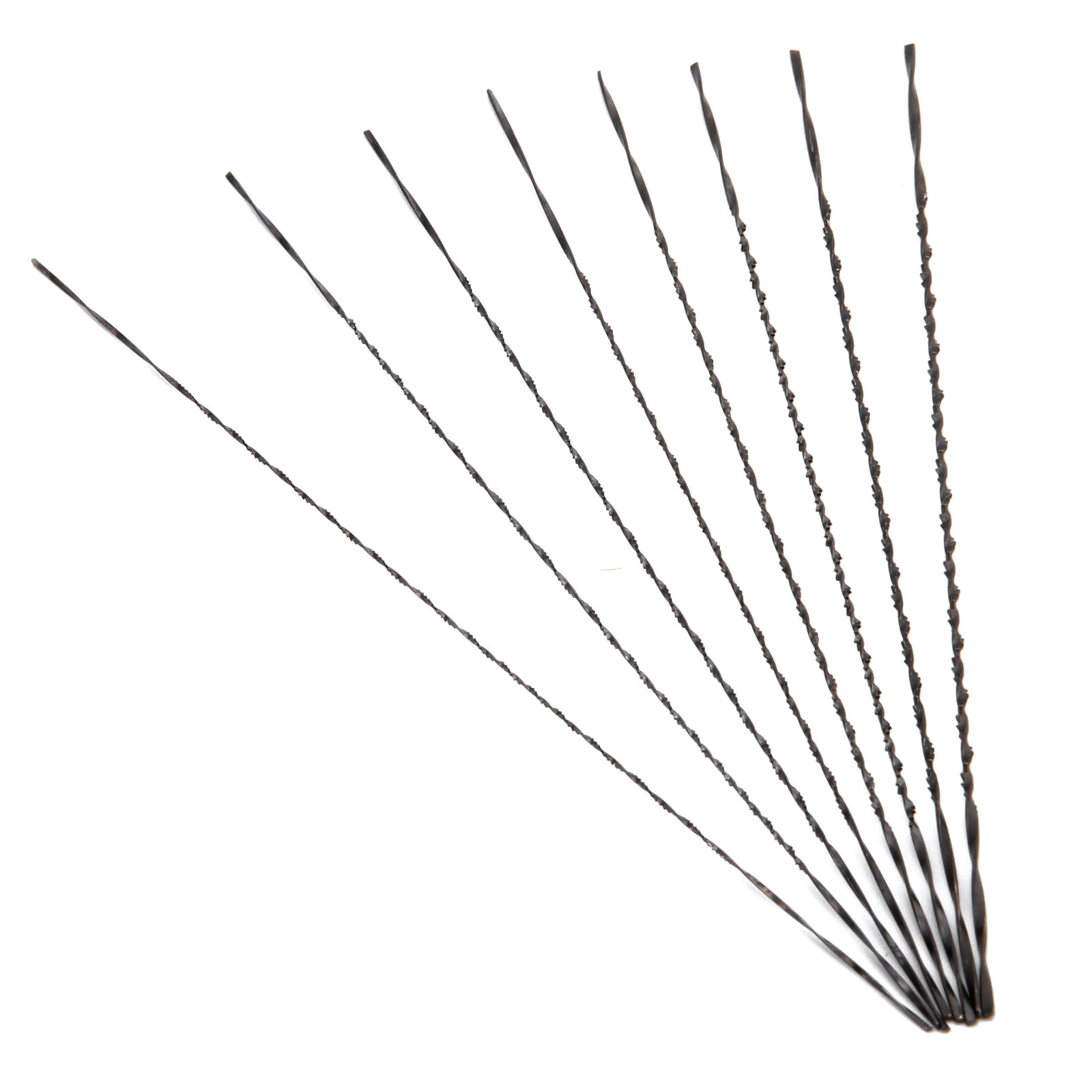 Dreld 12pcs 130mm Scroll Saw Blades 1 8 Carbon Steel Jig