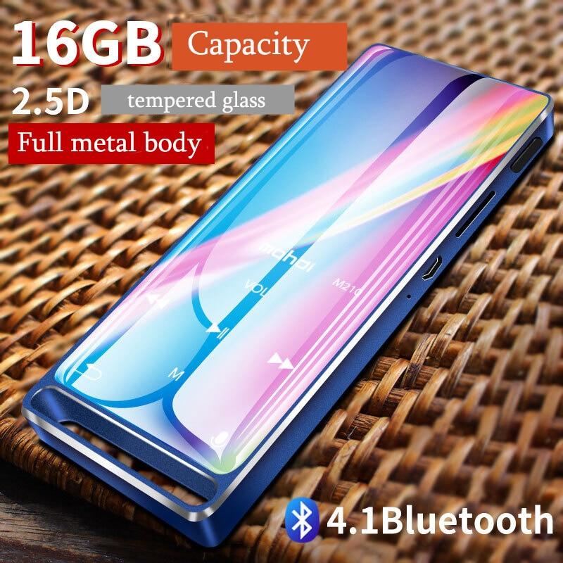 Mahdi M210 16G Bluetooth MP3 Player Music Player Sport Portable Lossless HiFi TFT 1.8 Inch Screen FM Radio Recording