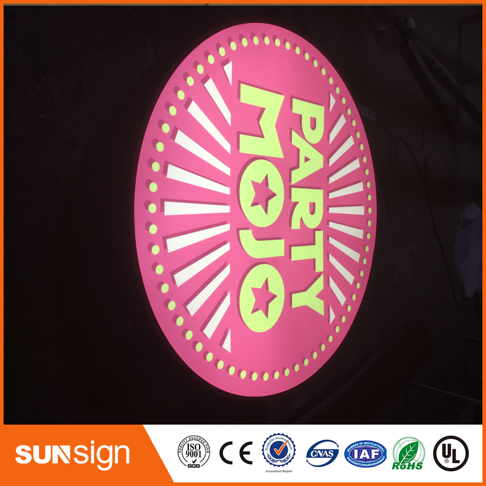 New Style Outdoor Double Sides Light Box Sign