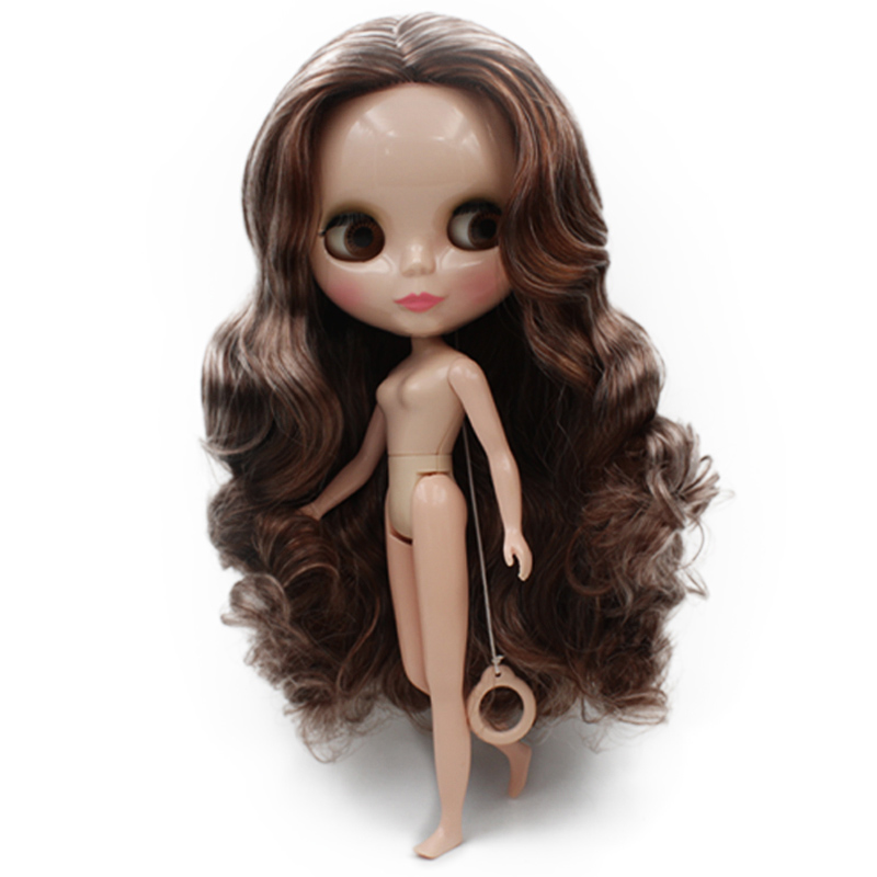 Blyth BJD doll, Blyth Doll Nude Customized Shiny face Dolls Can Changed Makeup and Dress DIY, 12 Inch Ball Jointed Dolls 07Blyth BJD doll, Blyth Doll Nude Customized Shiny face Dolls Can Changed Makeup and Dress DIY, 12 Inch Ball Jointed Dolls 07