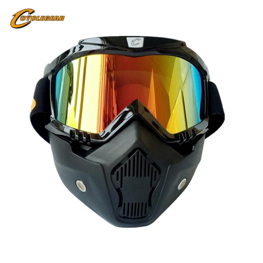 Men Women Motorcycle Motocross Racing Goggles Outdoor Sports Glasses Mask Sunglasses Ski Snowboard Eyewear