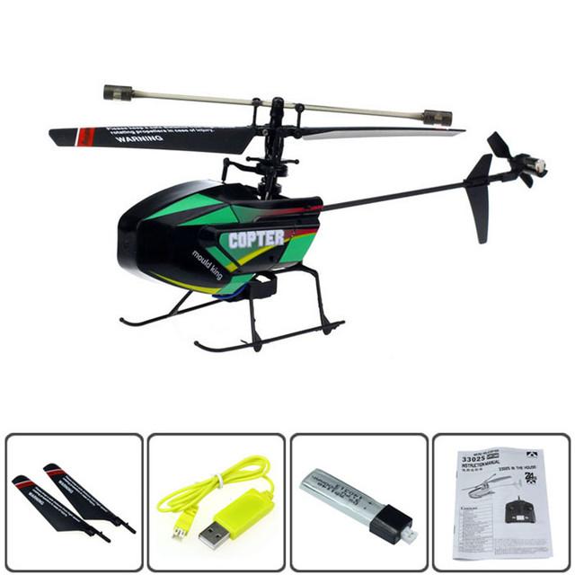 Venta caliente 2.4G 4 Canales de Control remoto Helicóptero Helicóptero para Los Niños Juguetes de Regalos Aug9