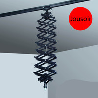 Ceiling rail telescopic instrument crane head arm photo studio for wedding dress photography studio CD50