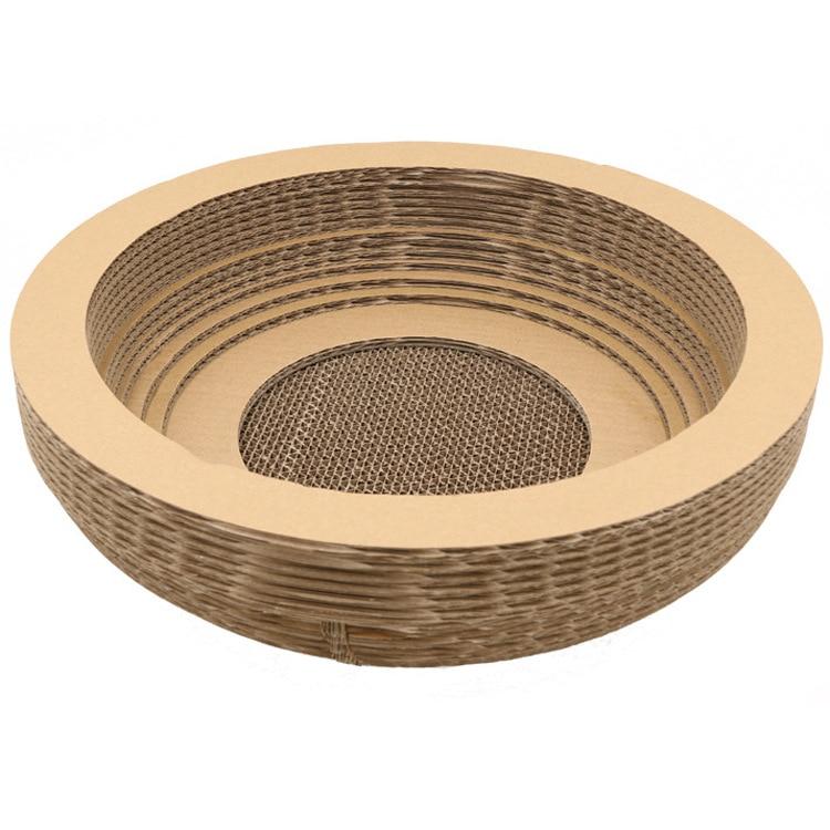 Pet Cat Products Round Shape Corrugatd Paper Cat Favorate Board