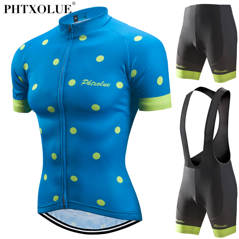 Phtxolue 2018 Women Cycling Jerseys Set for Outdoor Biking Bicycle Bib Shorts 3D Gel Padded MTB Bike Riding Shorts Ciclismo