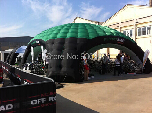 Free shipping 4 entrances 8mx8m inflatable dome tent Inflatable exhibition tent advertising tent ao058m 2m hot selling inflatable advertising helium balloon ball pvc helium balioon inflatable sphere sky balloon for sale