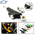 Universal Motorcycle CNC Damper Steering Stabilizer Damper Linear Reversed Safety Control for CBR500R RC 125 cb 500 z750