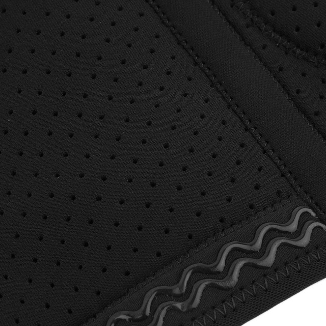 Mumian B01 Black Silicone Adjustable Kneepad Sports Leg Knee Patella 2 Spring Support Brace Cap Wrap Protecting Pad Sleeve