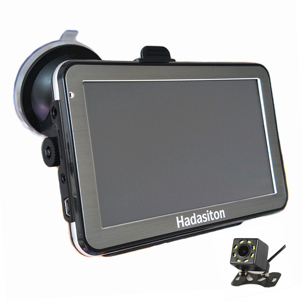5 Touch Screen Car GPS Navigation CPU800M 8G Sat Nav FM Free maps Bluetooth AV IN