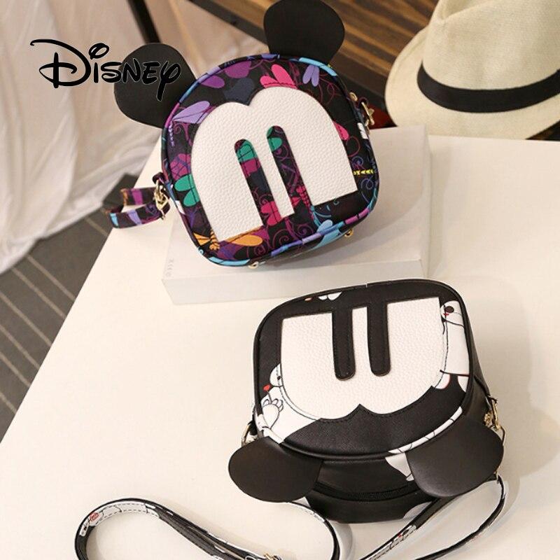 Disney Kinderen Schoudertas Mini Crossbody Tassen Minnie Mickey Vrouwen Handtassen Leuke Kids Messenger Mode Meisjes Kerstcadeau