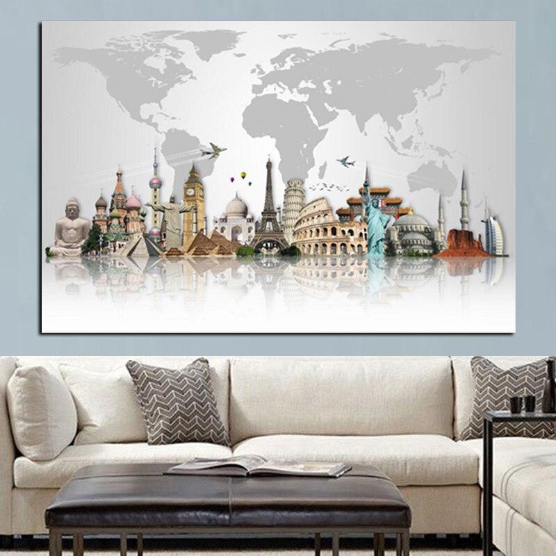 Buildings Big Ben Tower Map DIY diamond mosaic sales square embroidery rhinestones painting 5d full JS5019
