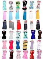 318styles Baby Leg Warmer Children Christmas leggings infant Halloween Pumpkin Adult Arm warmers 60Pairs/lot
