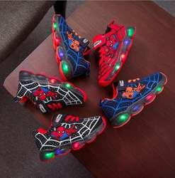 Светящиеся кроссовки для мальчиков и девочек, светящиеся кроссовки для детей, спортивные кроссовки для мальчиков и девочек