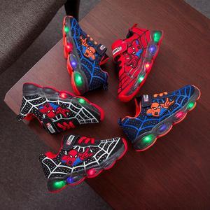 Led luminous Spiderman Kids Sh