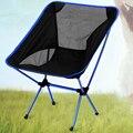 Azul escuro Cadeira Dobrável Cadeira de Acampamento Ao Ar Livre Assento de Esboçar H195-2 Piquenique Pesca de Praia Portátil