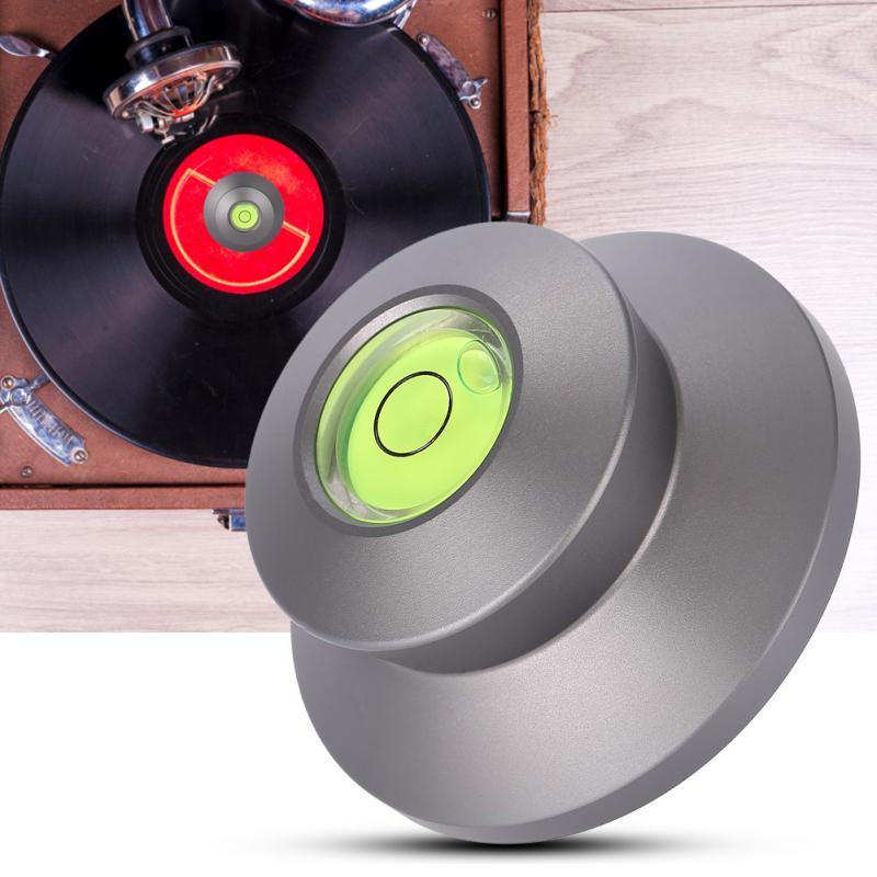 Plattenspieler 50 Hz Legierung Wasserwaage Plattenspieler Rekord Stabilisator Clamp Lp-190 Lp Record Disc Stabilisator Gewicht Für Lp Vinyl Rekord Player Ruf Zuerst Tragbares Audio & Video