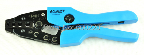 High quality Bootlace ferrule crimper AN-35WF crimping tool cord end terminals 10-35mm2 crimp tool wholesale