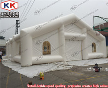 white inflatable tent for events , inflatable party tent, giant party tents