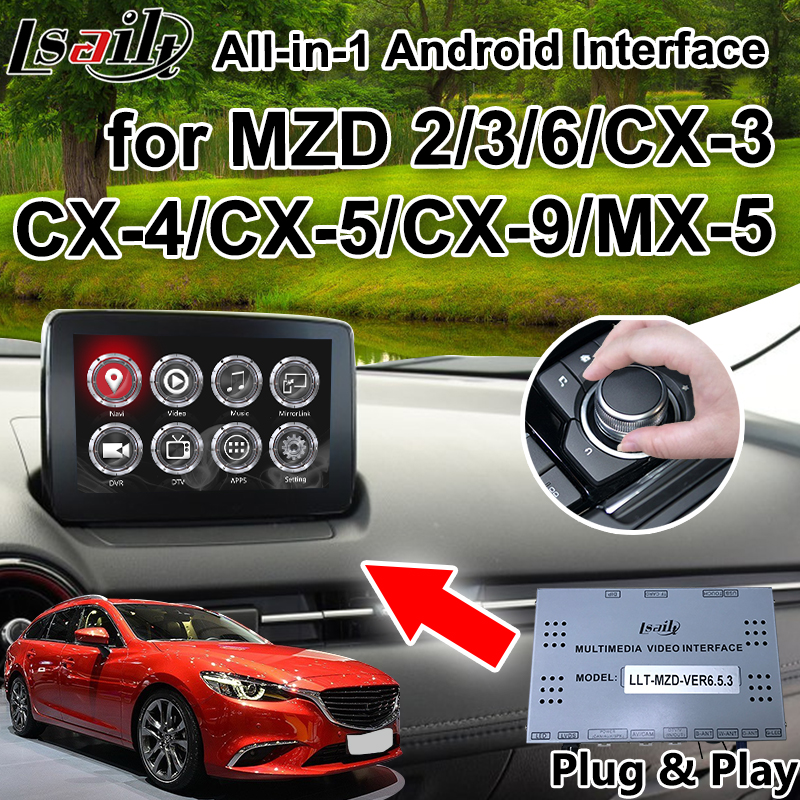 All In 1 Plug Play Android Car Gps Navigation Box For 2014 2018