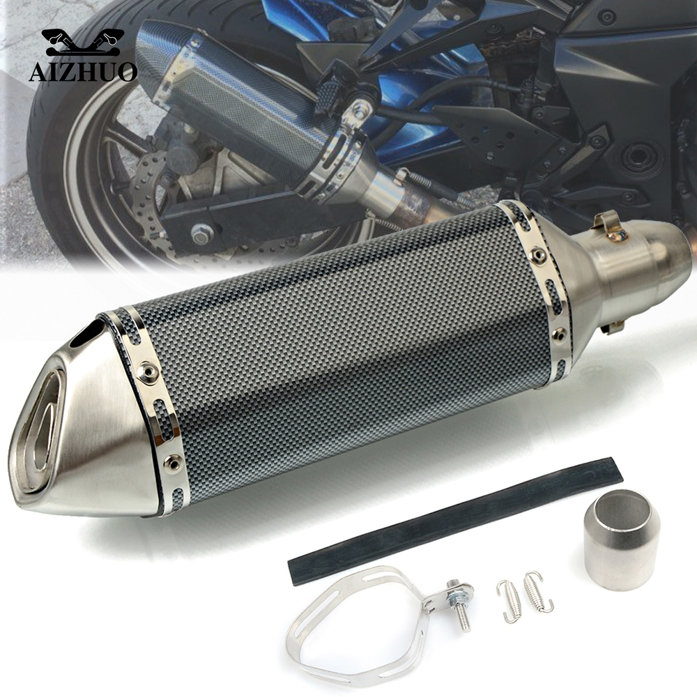 Motorcycle Exhaust pipe Muffler Escape DB killer 36MM 51MM FOR SUZUKI Bandit 650S DL1000 DL650 GSF1200 GSF1250 GSF650 BANDIT in Exhaust Exhaust Systems from Automobiles Motorcycles