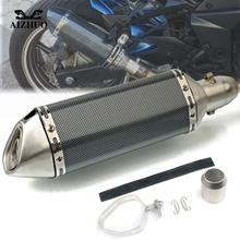 Motorcycle Exhaust pipe Muffler Escape DB-killer 36MM-51MM FOR SUZUKI Bandit 650S DL1000 DL650 GSF1200 GSF1250 GSF650 BANDIT motorcycle muffler stainless steel exhaust motorcycle muffler exhaust pipe for suzuki hayabusa gsxr1300 gsx650f gsf650 bandit