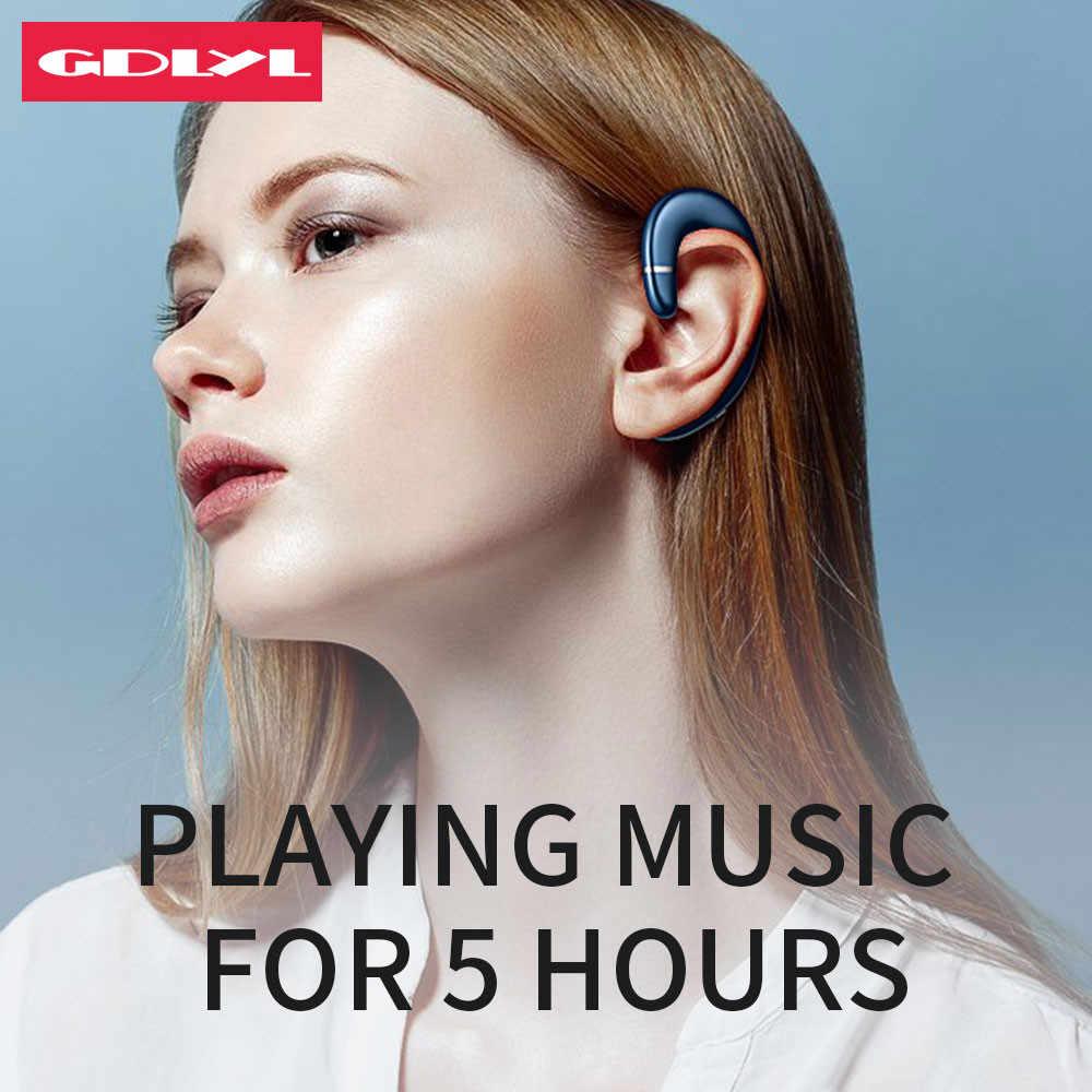 GDLYL zaczep słuchawki bezprzewodowe słuchawki bezprzewodowe Bluetooth słuchawki wodoodporne słuchawki Bluetooth zestaw słuchawkowy dla aktywnych słuchawka zestawu głosnomówiącego do telefonu