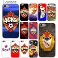Lavaza PFC CSKA Moscow Hard Phone Cover Case for Apple iPhone X XR XS Max 6 6S 7 8 Plus 5 5S SE 5C 4S 10 Cases 7Plus 8Plus