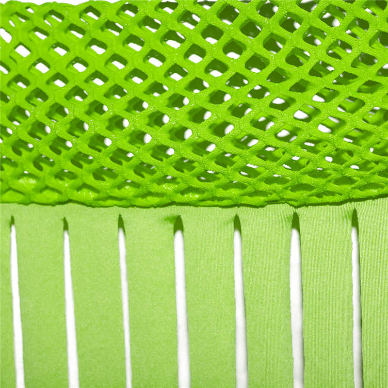 بدلات نسائية طويلة الأكمام بشبكة نيون خضراء من شبكة صيد السمك بدلة للحفلات ملابس مهرجان الهذيان بدلة مريحة