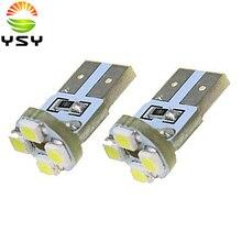 Fabrik Preis 1000 STÜCKE T10 PCB 3528 1210 4 SMD LED 4 Watt 110LM Weißes Licht Kennzeichenbeleuchtung Instrument Lampe Signal Glühbirnen