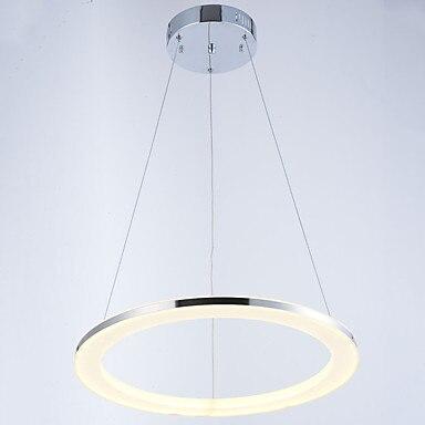 40/50/60/70/80CM Acryl Round Ring Modern LED Pendant Light Fixtures Home Lighting Dinning Room Hanging Lamp Luminaire