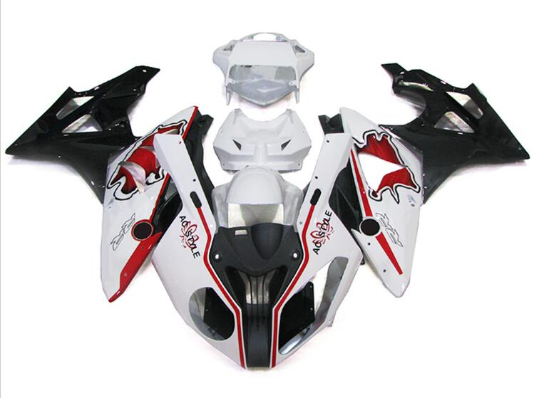 New ABS Fairings For BMW S1000RR 09 12 13 14 1000RR 2009 - 2014 Injection Motorcycle Fairing Kit Bodywork set Cool red image