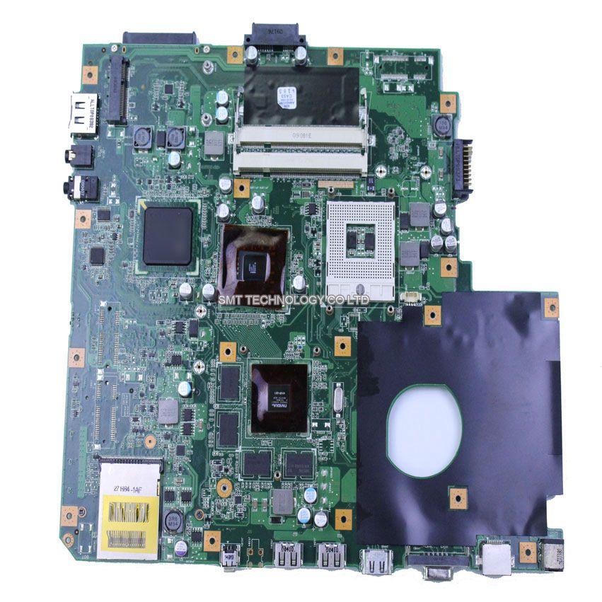 N51VF motherboard for asus rev 2.0 DDR3 100% test mainboard notebook 100% test