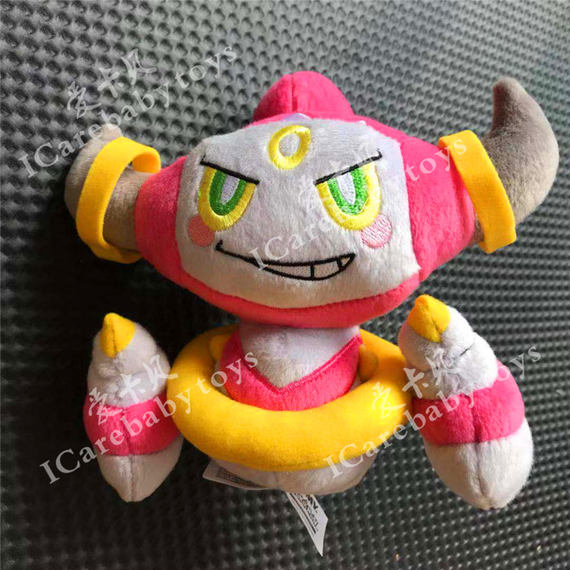 Original 21 Cm Anime Plush Peluche Doll Hoopa Soft Stuffed Hot Toy Great Christmas Gift For Children