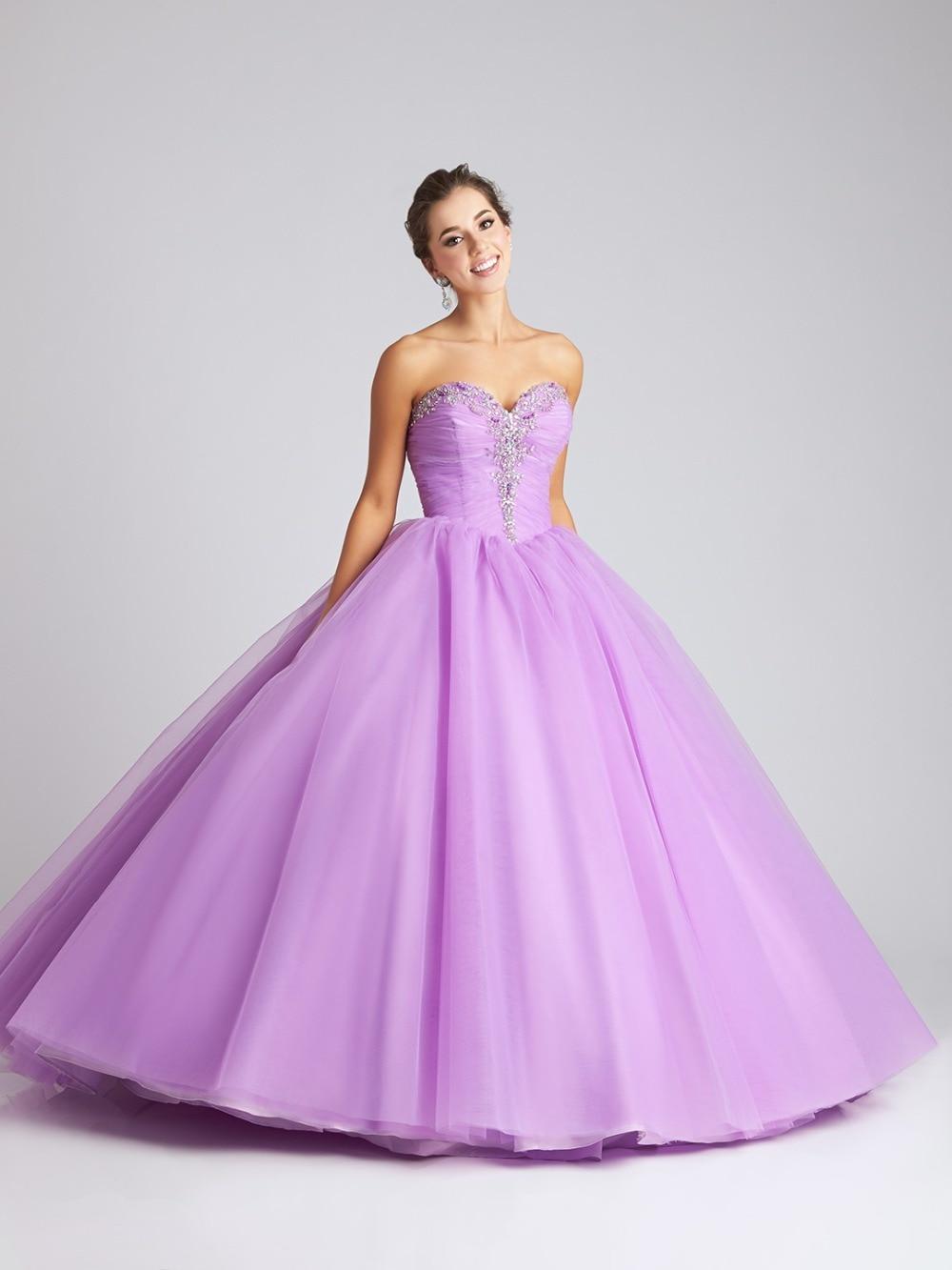 Perfecto Vestidos De Color Lila Para Damas Ornamento - Colección de ...