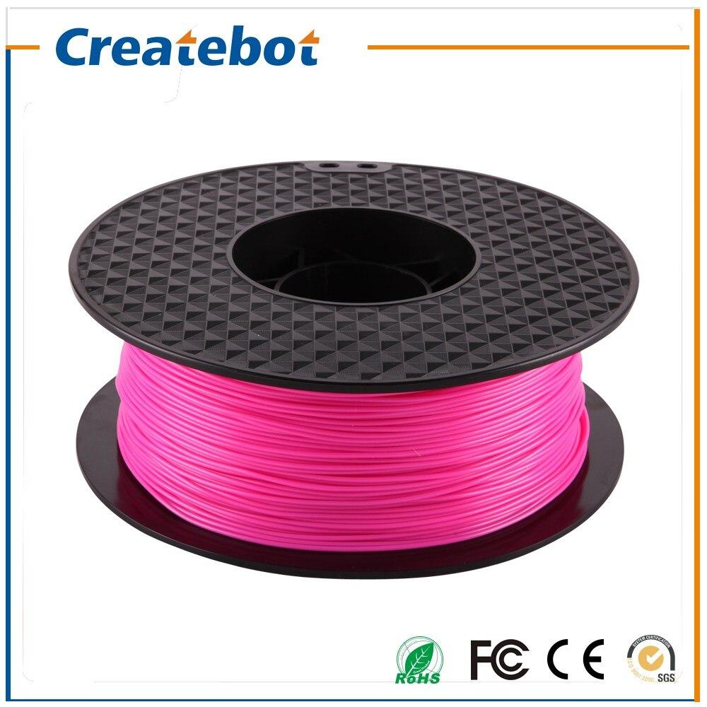 3D printer filament Pink color PLA filament 1 75mm 1kg spool for Createbot MakerBot RepRap kossel