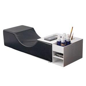 Image 1 - まつげエクステンション専門枕、特別使用のためのグラフトまつげエクステンション、革とフランネル枕