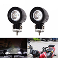 2PCS 10W LED Work Light 12V 24V Car Auto SUV ATV 4WD AWD 4X4 Offroad LED Driving Fog Lamp For Motorcycle Truck Auto Car