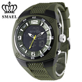 Smael caixa da liga dos homens do exército militar relógios big dial dive esporte relógios à prova d' água led digital analógico relógio de pulso dos homens ws1008