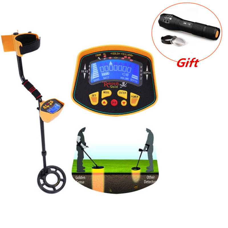 Metal Detector Underground Gold Digger Treasure Hunter Detecting Equipment Wire Detector Metal Detector цена