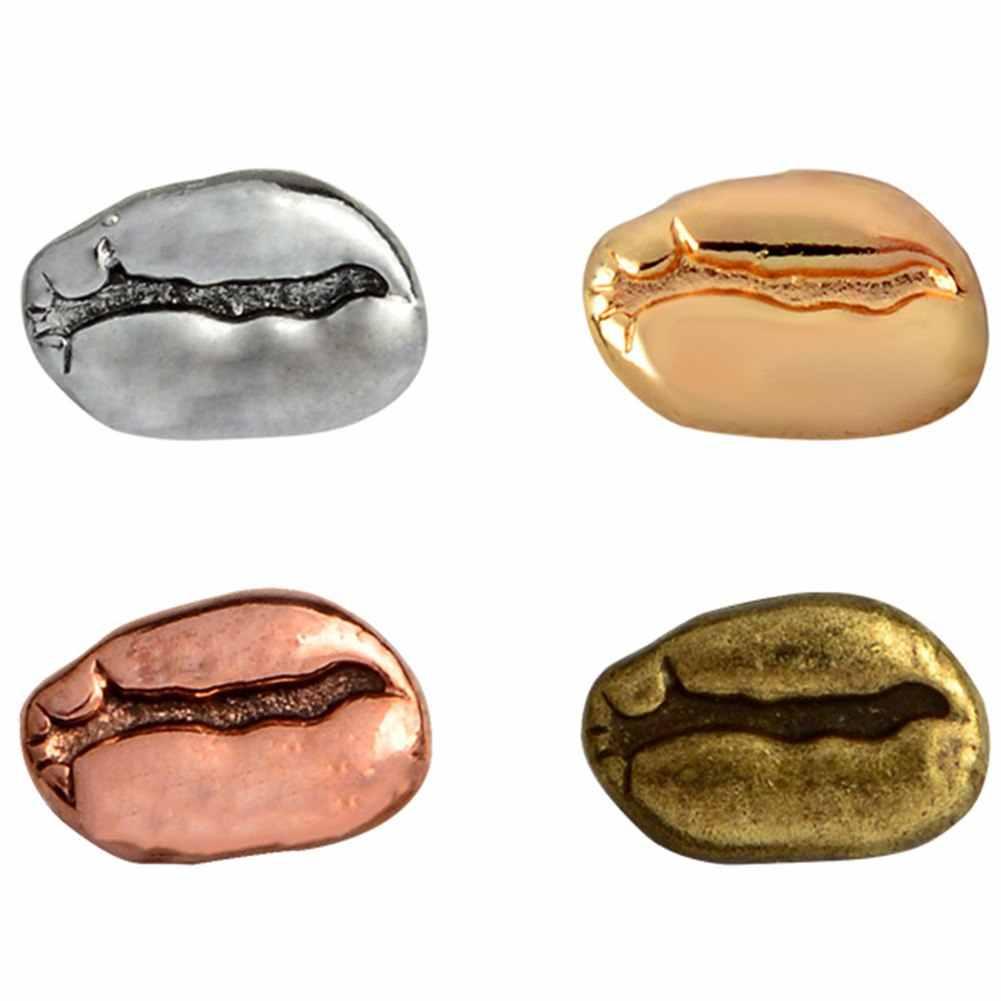 1 ชิ้น/เซ็ตโลหะ Pin น่ารักรูปร่างถั่วกาแฟคนรักเสื้อกระเป๋าหมวกเสื้อแจ็คเก็ตป้าย Vintage Pins ของขวัญอุปกรณ์เสริม