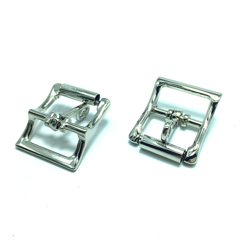 Locking Tongue Roller Buckle in 2.5 cm 2pcs tongue