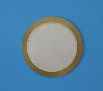 The diameter of the ceramic chip of the parallel circular bimorph piezoelectric generator 40mm 10 95mm piezoelectric ceramic chip
