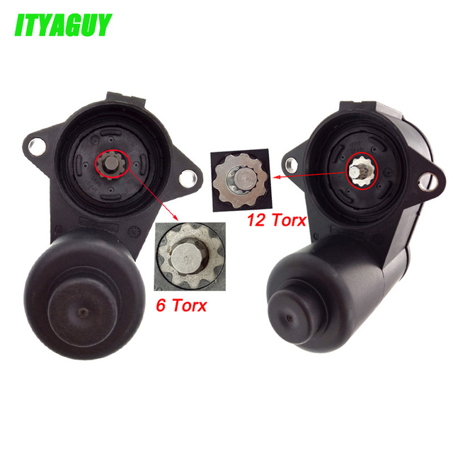3C0998281A 3C0998281B 32330208 3C0998281 12 / 6 Torx/TEETH Wheel Handbrake Brake Caliper Servo Motor For VW Passat CC Sharan Q3