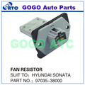 5PCS Blower Motor Regulator / AC/Heater Fan Resistor for H yundai Sonata XG350 Santa Fe K ia Optima OEM 97035-38000 97035-3D000