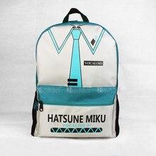 Новый Vocaloid Hatsune Мику анимация мультфильм студенты рюкзак мужчин и женщин плечи мешок 42*32*13 СМ