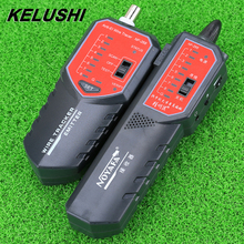 KELUSHI Wire Tracker NF-268 Anti-jamming Network cable tester tracer errors locator RJ11 BNC RJ45 cable on switcher fiber tool