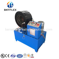 BNT150 Easy operation 380v 5.5kw 6mm to 150mm hose pipe swaging machine hydraulic hose press with high speed