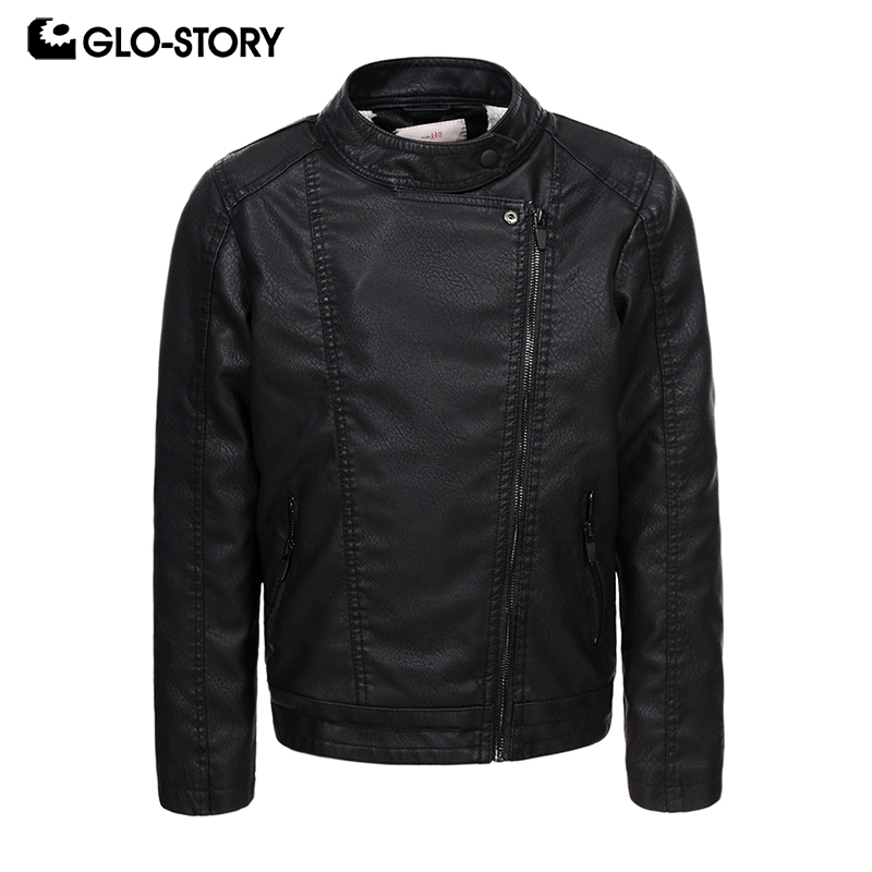 GLO STORY Shipped From HU Children Kids Boys 2018 Wool Liner Winter Thick Warm Black Motor