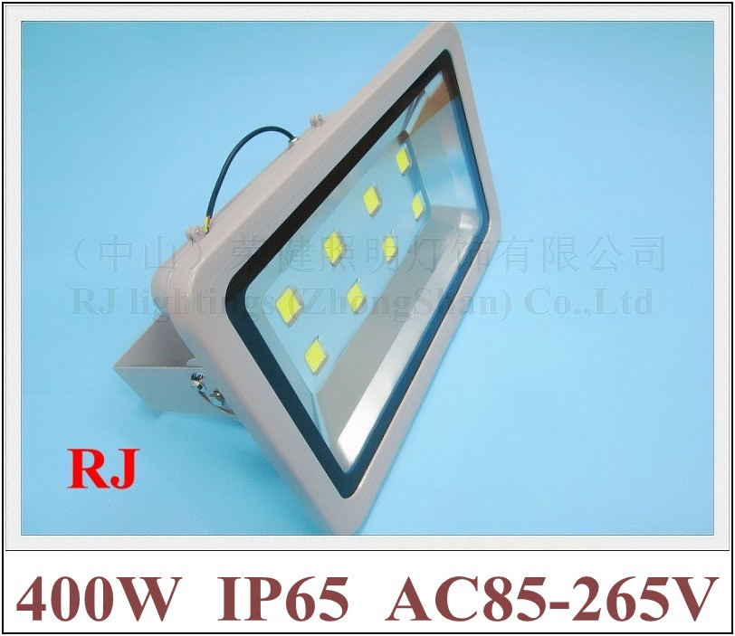 400W LED flood light floodlight waterproof LED spot lamp 400W (8*50W) AC85 265V 32000lm IP65 CE ROHS Toughened glass aluminum