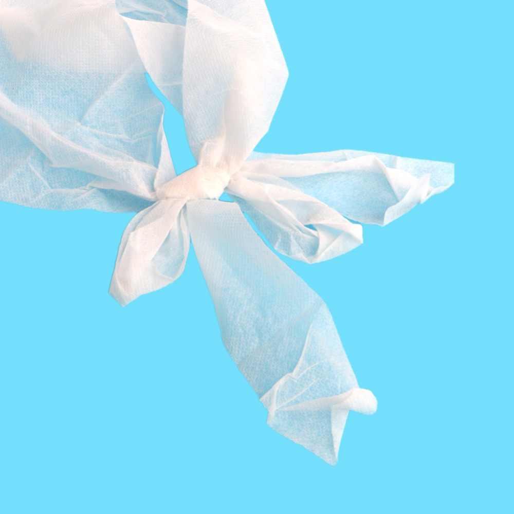 1 قطعة السيدات المتاح غير المنسوجة ورقة حمالة البرازيلي ل علاجات السبا